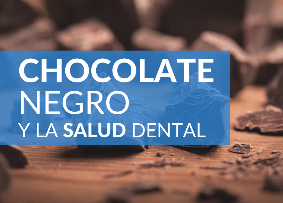 El chocolate negro y la salud dental