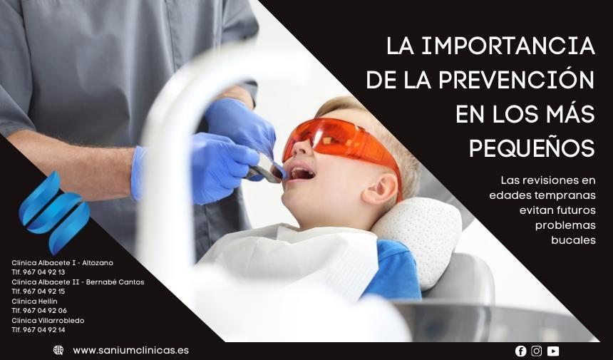 La importancia de la prevención en los más pequeños