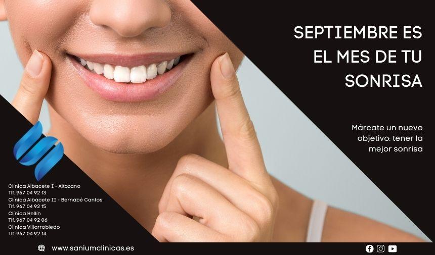 Septiembre es el mes de tu sonrisa